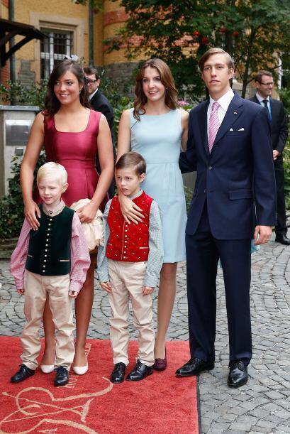 La boda del príncipe Félix de Luxemburgo c03a93a173014aecbd647010e275d83...