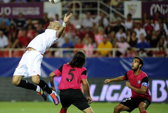 Sevilla se impuso por 2-1 al Málaga, pero hubo un momento en el q...