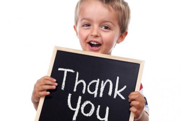 Gratitud: Los chicos instintivamente reconocen dónde están...