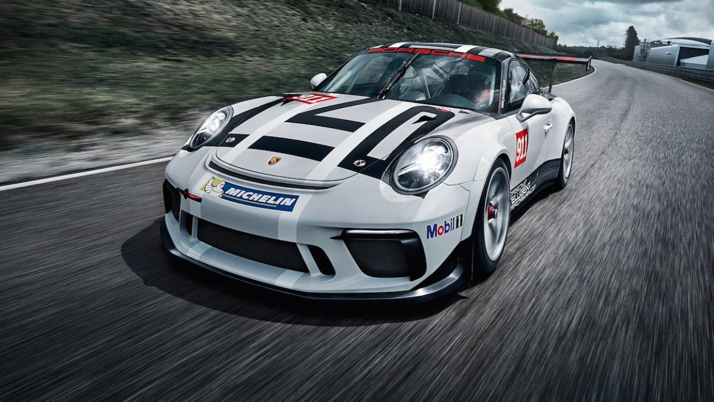 El Porsche 911 GT3 Cup 2017