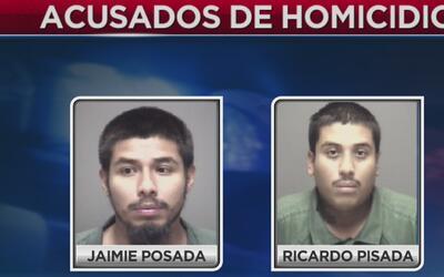 Arrestan a dos hispanos en conexión con un asesinato en Galveston