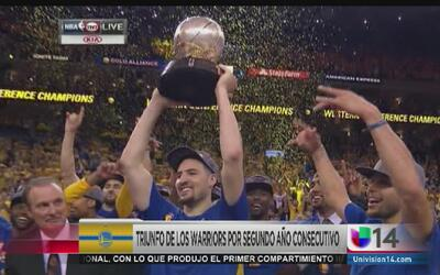 Warriors logran hazaña y van a la final de la NBA