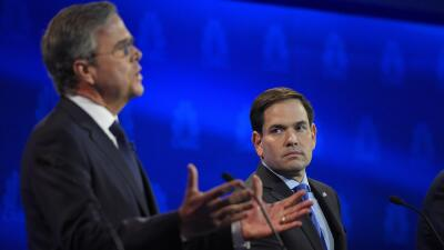 Bush y Rubio