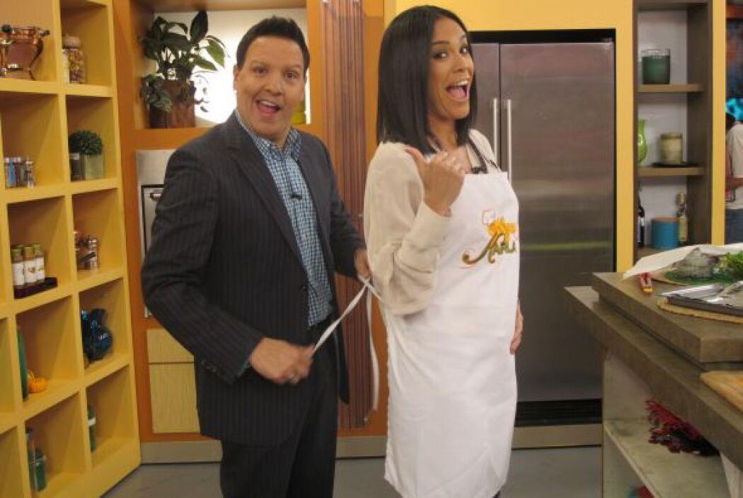 Sabemos que a Karla le encanta cocinar y esta mañana no podía faltar una...