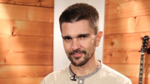Juanes canta con Nastassja