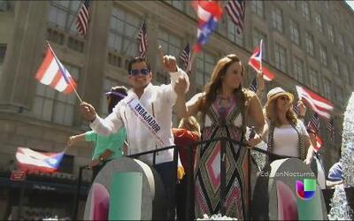Puertoriqueños en Nueva York tiran la casa por la ventana