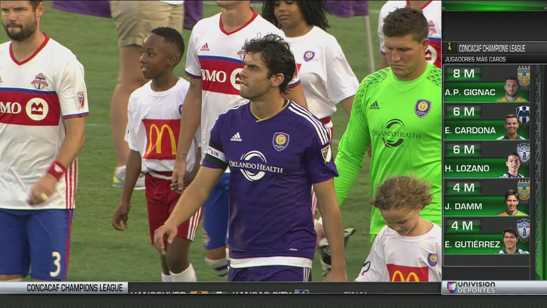 Toronto le pegó al son de 2 - 1 al Orlando City de Kaká