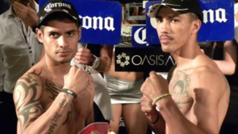 Salgado y Honorio dieron el peso sin problemas (Foto: HG Boxing)