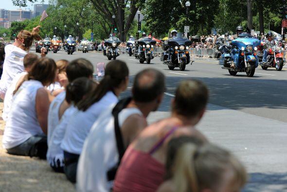 Cada año, el 'Rolling Thunder' acapara la atención de miles de residente...