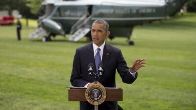 Obama: No enviaremos tropas a Irak