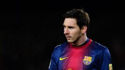 Messi no entrenó por tener fiebre.