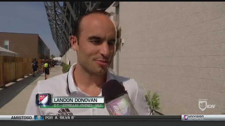 Landon Donovan espera un gran partido de los Canteranos de la MLS vs Méx...