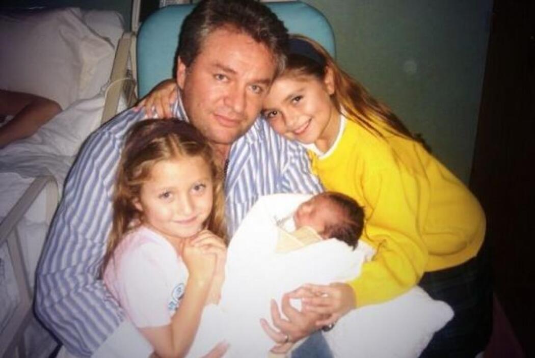Eso sí, José Alberto Castro aprovecha muy bien el tiempo junto a sus hijas.