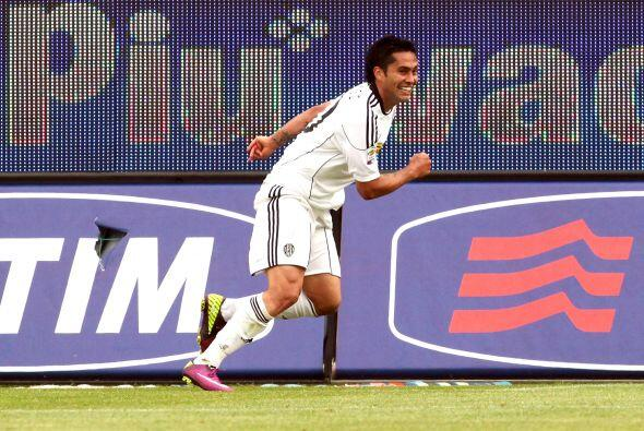 Y lo estaba logrando con gol de Luis Jiménez al minuto 54.