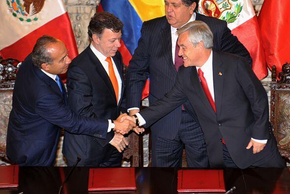 El Acuerdo del Pacífico, que busca una integración profunda entre países...