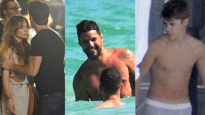 Jennifer López, Ricky Martin y Justin Bieber protagonizaron los chismes...