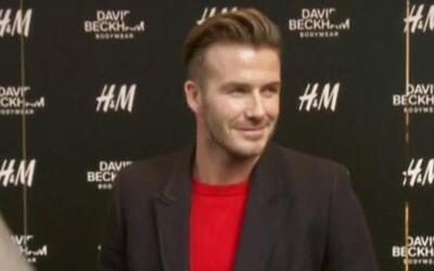 David Beckham llegó a vivir a Miami con toda su familia