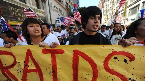 La comunidad inmigrante de EEUU teme que en cualquier momento Trump acti...