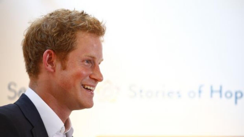 El príncipe Harry dijo que él se encargará que George, su sobrino, se di...