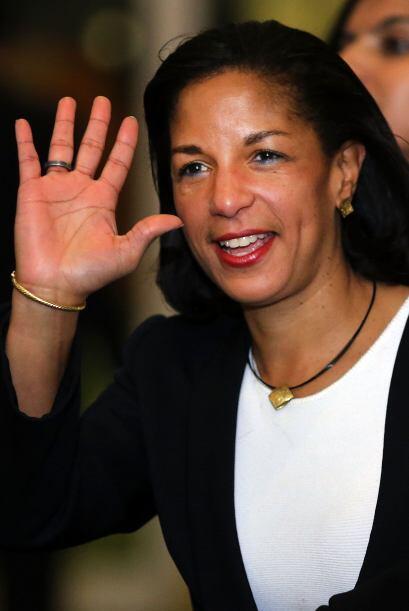 Rice es hija de Emmett J. Rice, exgobernador de la Reserva Federal; y Lo...