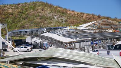 Odile azotó la península de Baja California en 2014