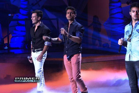 Fotos de los ensayos de Premios Juventud