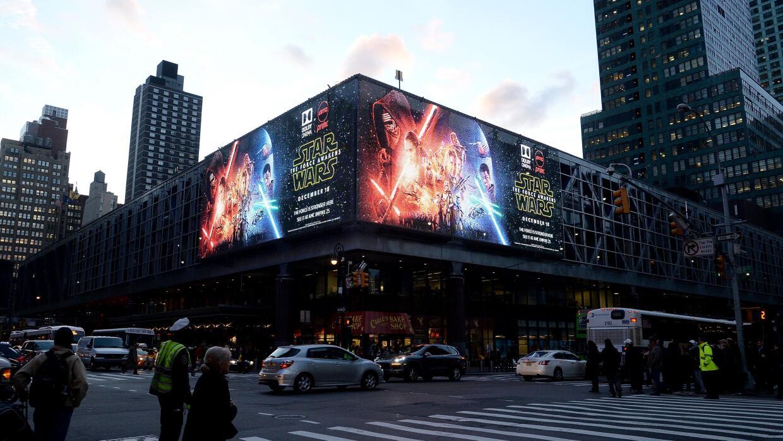 Una imagen de la cinta en Nueva York