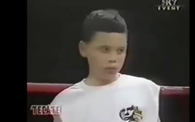 Así peleaba desde su niñez Julio César Chávez Jr.