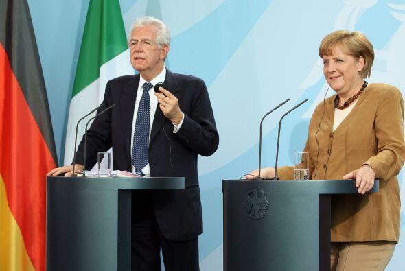 Monti se dijo convencido de que tal como lo dice Alemania, la disciplina...