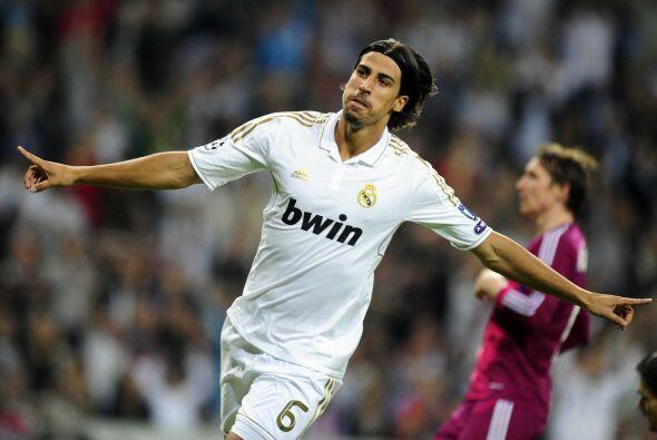El alemán Khedira le aporta quite, despliegue, ganas  y fútbol.
