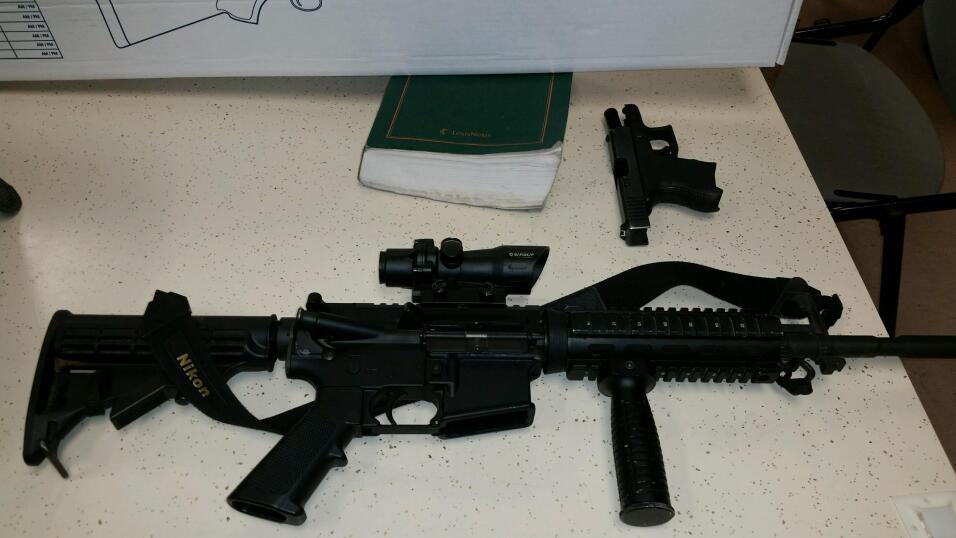 """Fotos de decomiso de drogas y armas en """"Operativo Sidewinder"""""""