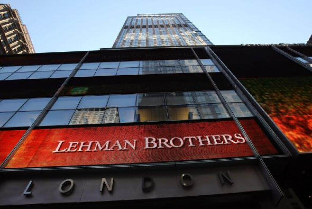 1. Lehman Brothers (banco) - 15 septiembre 2008 - $691 mil millones.