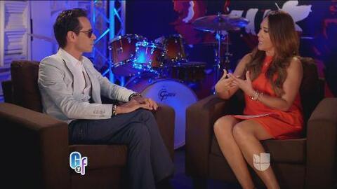 Marc Anthony confesó lo feliz que lo ha hecho su esposa Shannon de Lima
