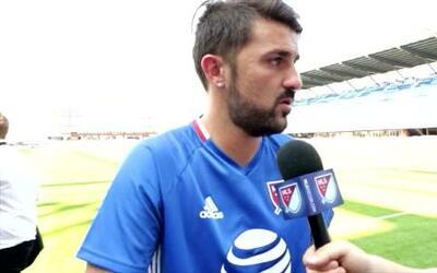 "David Villa: ""Va a ser un partido complicado ante Arsenal FC"""