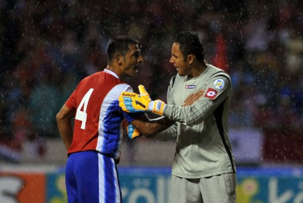 En el actual Hexagonal Final de Concacaf rumbo a Brasil 2014, Navas no f...