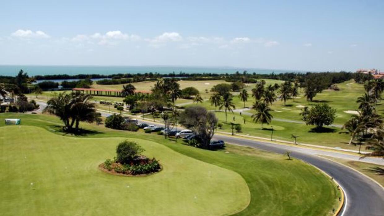 Campo de Golf en Varadero, considerado el más importante en Cuba por sus...