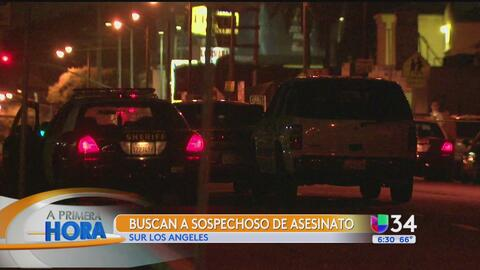 Asesinan a tiros a un hombre en el sur de Los Ángeles