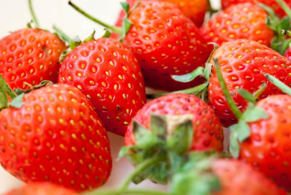 Fresas. Dulces y ácidas a la vez, las fresas son una excelente fuente de...