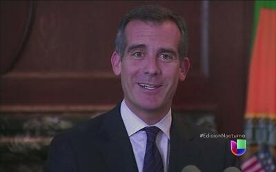 El alcalde de LA defiende a menores migrantes