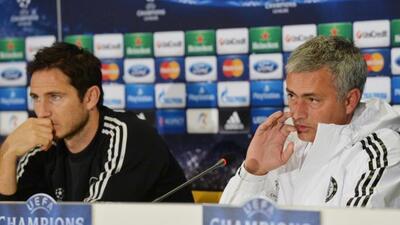 El entrenador del Chelsea entendió el profesionalismo de Lampard.