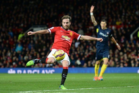 Juan Mata tuvo varias ocasiones al frente pero la dirección no estuvo de...