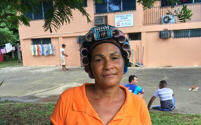 Former dancer Aniuska Gutiérrez, 49, is one of 400 Cubans migrant...