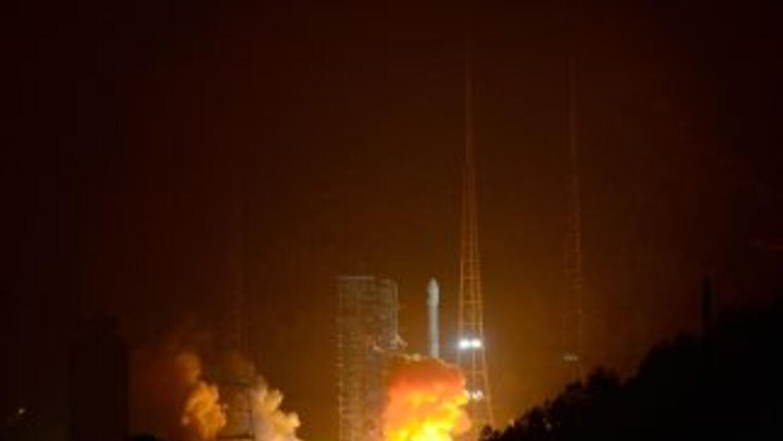 China llega a la Luna.