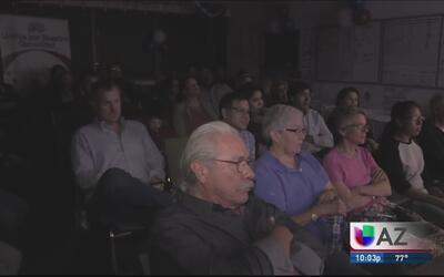 Residentes de Phoenix reaccionan al debate presidencial