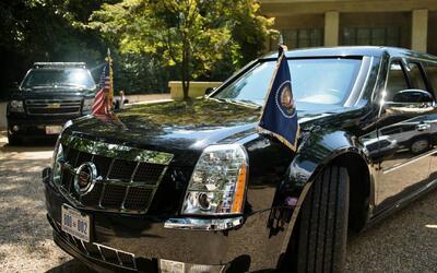 'La Bestia', el imponente vehículo que transportará a Donald Trump con e...