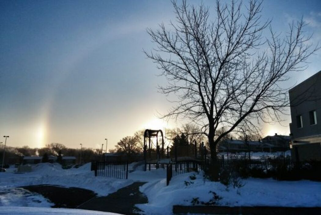 Desde Saint Paul, Minnesota, Rosita Huerta,  captó el bello paisaje de u...