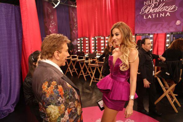 """Al parecer, la ex Nuestra Belleza Latina y el """"Zar de la Belleza"""" se lle..."""
