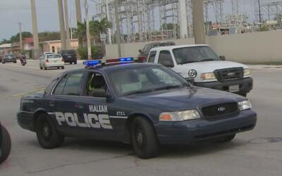 Buscan a dos personas involucradas en un tiroteo en Hialeah