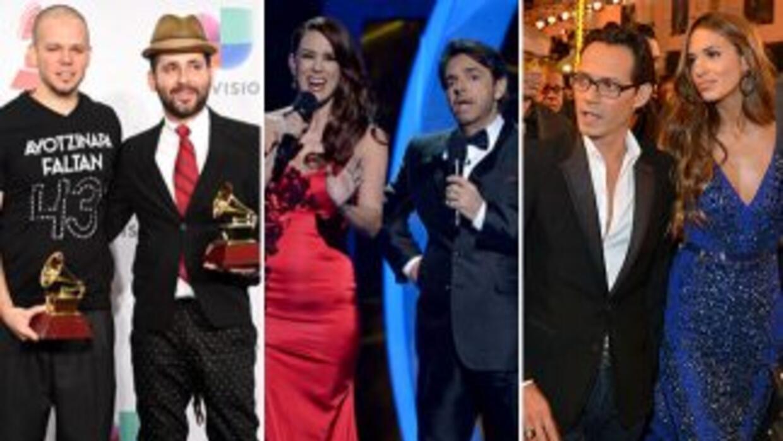 Enrique Iglesias arrasó con los premios. Calle 13 se convirtió en el más...