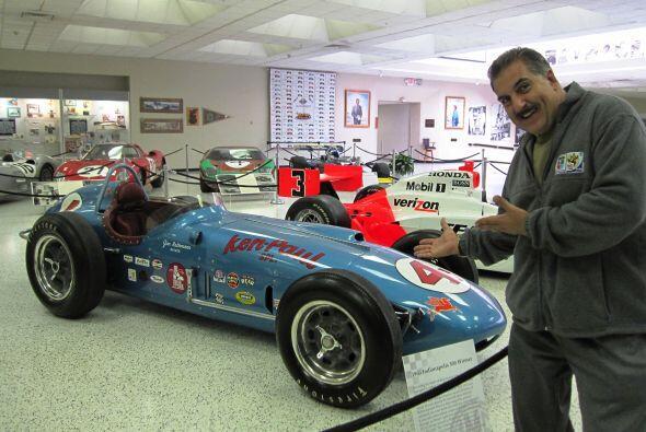 Auto de Jim Rathmann, ganador de las 500 millas en 1960.